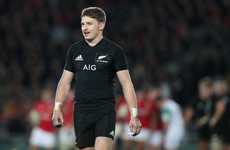Barrett captains All Blacks for the first time in European tour opener against the Barbarians