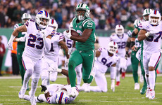 Jets beat Bills as unpredictable NFL season continues
