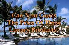 Can You Guess The Price Of These Luxury Products?