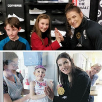 The amazing story of how a little girl from Dublin finally met Katie Taylor five years after seeing her in hospital