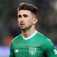 Sean Maguire has been ruled out of Ireland's World Cup play-off against Denmark