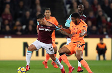 As it happened: West Ham vs Liverpool, Premier League