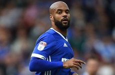Good timing! David McGoldrick heads 7th goal of the season before flying in to Ireland camp