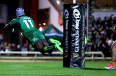 Connacht are too quick for the Cheetahs but miss out on bonus point in Galway