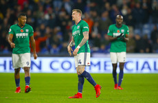 'Launching bottles and other objects from up in the stands makes you cowards, not hard men' - McClean