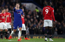 Conte's controversial decision vindicated as Morata goal sees Chelsea beat Man United