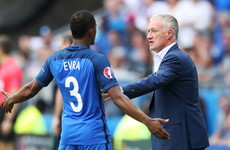 Deschamps: 'It's something that you just can't do and he knows that'