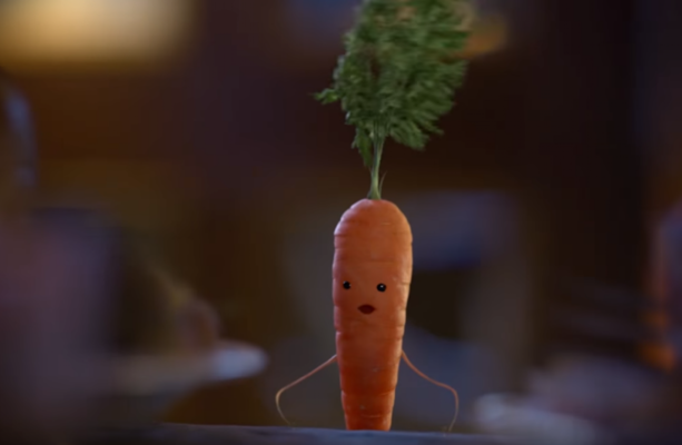 kevin the carrot is back in aldi 39 s new christmas ad and he. Black Bedroom Furniture Sets. Home Design Ideas