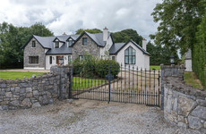 Clean design and landscaped gardens make this Roscommon home a natural beauty