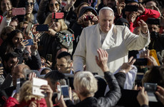 The Pope had to tell bishops to put down their phones in mass today