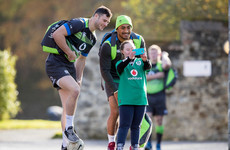 Aki in for Ireland as injury takes Earls out of 'Boks clash