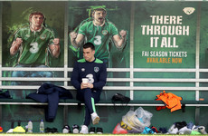 Injured duo link up with Irish squad as they prepare to fly out to Copenhagen