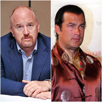 Comedian Louis CK and actor Steven Seagal latest to face accusations of sexual harassment
