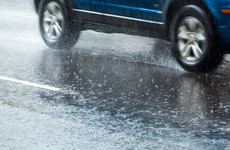 Two status yellow rainfall warnings issued for seven counties