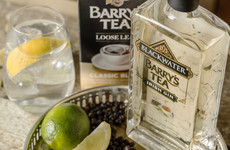 Barry's Tea have made their own gin, and we're extremely intrigued