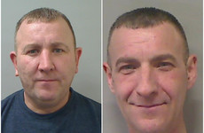 Police search for prisoner brothers with 'history of violence' who disappeared while attending a funeral