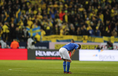 Stunned! Italy in big trouble after first-leg play-off defeat in Sweden