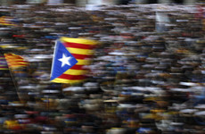 Thousands demand the release of Catalan independence leaders at Barcelona protest