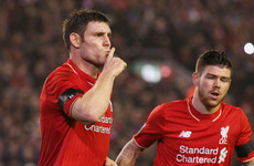 'When I saw James Milner, a right-footed midfielder, at left-back I knew something was happening'