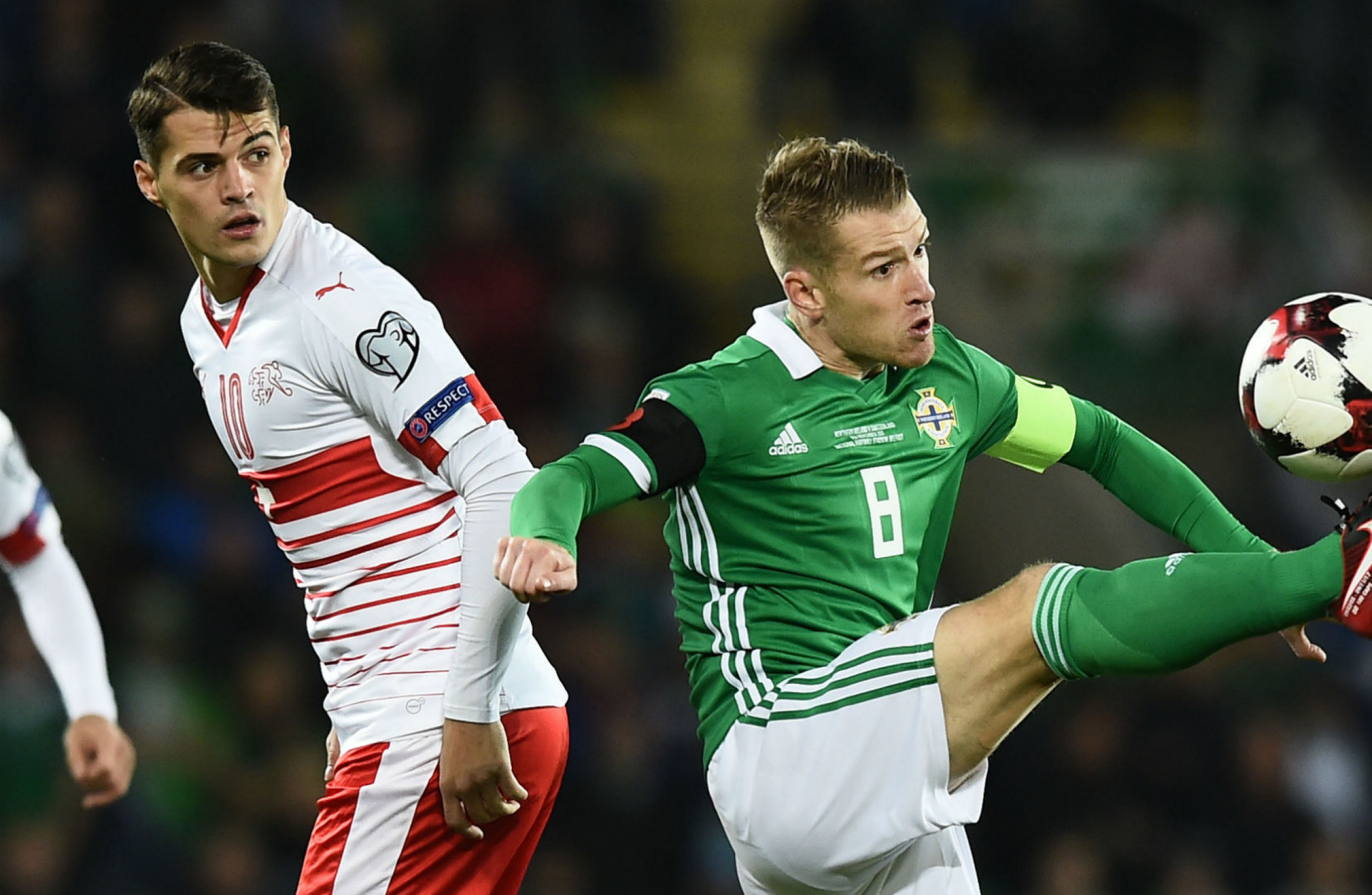 Granit Xhaka Has Absolutely No Sympathy For Northern Ireland's Misfortune