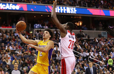 Lonzo Ball makes NBA history with youngest-ever triple-double