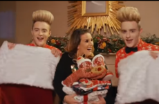 Jedward have gotten their own Christmas ad and it's as outrageous as you'd expect