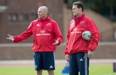 Erasmus and Nienaber officially bid farewell to Munster