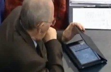 Watch: German finance minister plays Sudoku during Greek bailout debate