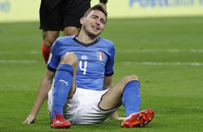 Humiliation for Italy as they fail to reach World Cup for first time since 1958