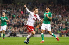 Ireland relinquish early lead as World Cup dreams are dashed in Dublin