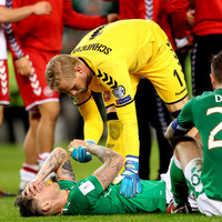 Schmeichel praises Irish fans: 'It's a shame they won't be at the World Cup'
