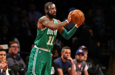Kyrie Irving overcomes facial fracture to achieve 13th consecutive NBA victory with Boston Celtics