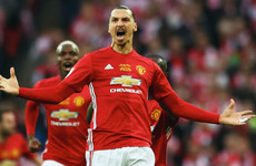 Ibrahimovic set for early Man United return before 2017 is out