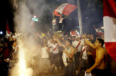 Celebrations in Lima triggered earthquake warnings as Peru ended a 36-year World Cup wait