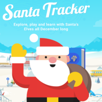 Do you want to track Santa's trip around the world? Here are a few options