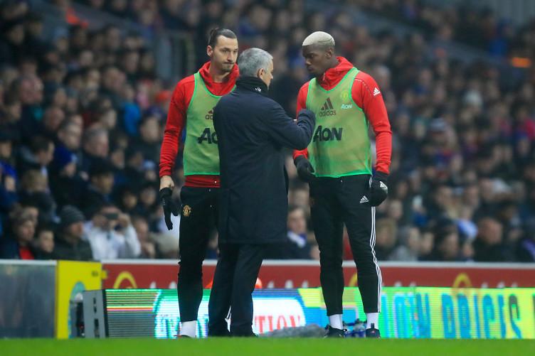 Ibrahimovic, Pogba and Mourinho.