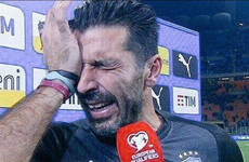 Buffon's tears, Swedish chefs and Bundee's debut - it's the sporting tweets of the week
