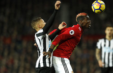 As it happened: Man United v Newcastle, Premier League