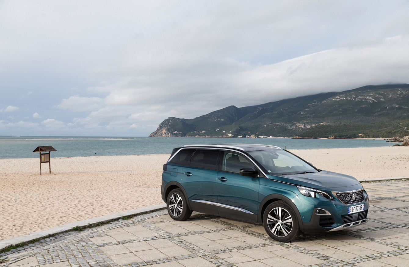 the all new seven seat peugeot 5008 is now on sale in ireland. Black Bedroom Furniture Sets. Home Design Ideas