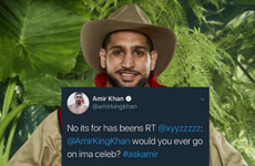 People have found this deeply mortifying old tweet from one of the new I'm A Celeb contestants