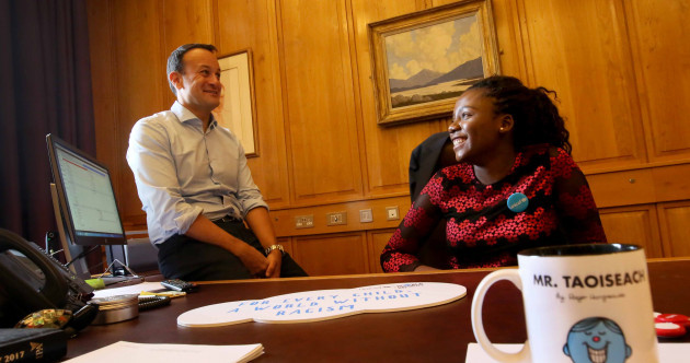 'Walking home, I'll be called a gorilla or a monkey' - Teenager meets Taoiseach to discuss racism