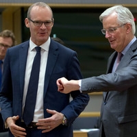 Ireland and the EU were standing side-by-side in making Brexit demands on the UK today