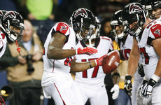 Seahawks' poor start sees Falcons hold on for big win