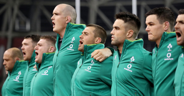'I keep quite calm, I need to': Devin Toner rises above it all