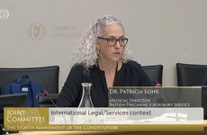 Eighth Committee: 'I don't judge or criticise women, I fully understand the fear that creeps in'