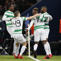 Watch: This powerful Dembele strike gave Celtic the lead against PSG after just 56 seconds