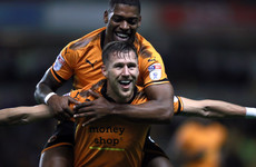 Wolves beat 10-man Leeds to go four points clear at top of Championship