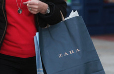 The Irish wing of Zara recorded a massive spike in sales last year