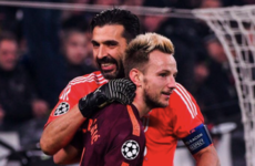 Exchange between Buffon and Rakitic illustrates Italian legend's popularity