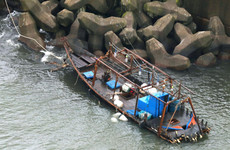 Eight North Korean fishermen wash ashore in Japan
